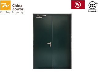 Gal. Steel Powder Coated Fire Rated Exterior Doors/ 1 Hour Rated Insulated Fire Door