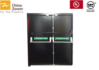 Steel FD60 Fire door is suitable for public places such as escape passage/evacuation stairwell/shopping mall
