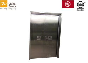 304 Stainless Steel Fire Rated Door/ 1.6 mm Pre Gal. Steel/ 90-120 min Fire Rating/45 mm Thick