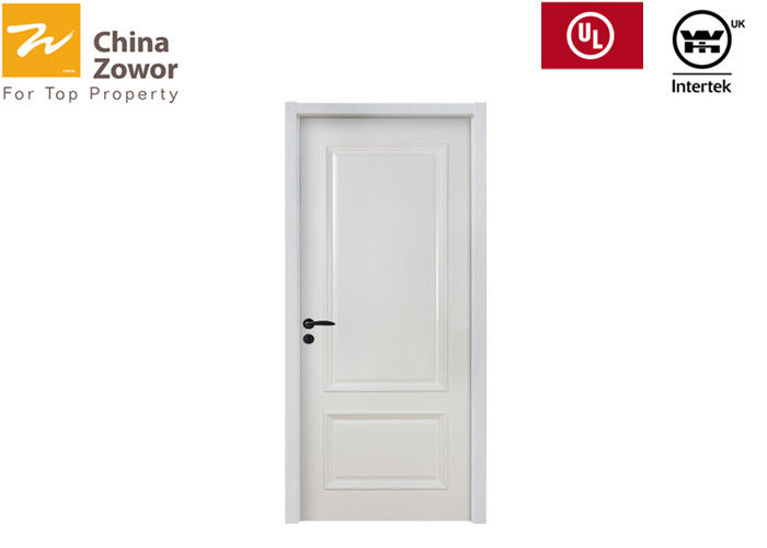 Height Greater Fireproof Interior Door For Residential Buildings 54m